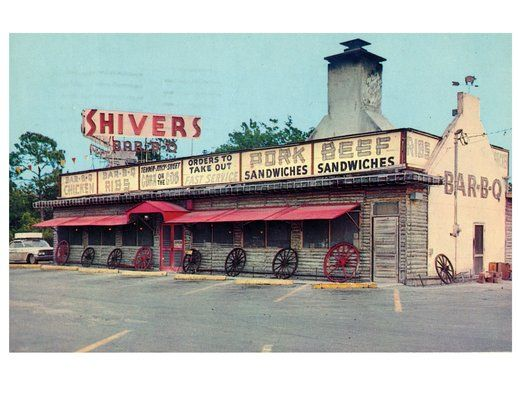 Shiver's BBQ | South Florida... memories from home. | Pinterest