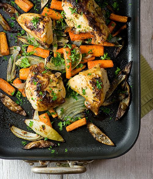 Roasted dijon chicken - to replace our other recipe which uses maple ...
