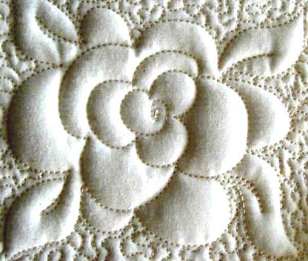Trapunto tutorial sewing ideas pinterest