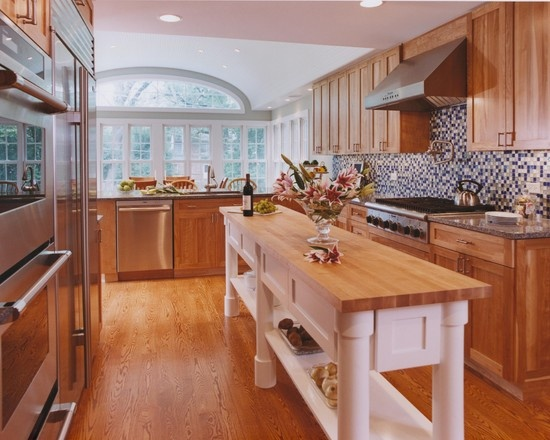 Pin by val deschenes on no man 39 s an island pinterest for Skinny kitchen island