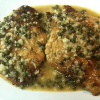 Paleo Chicken Saltimbocca with Limone Cappero Aglio Reduction Sauce ...