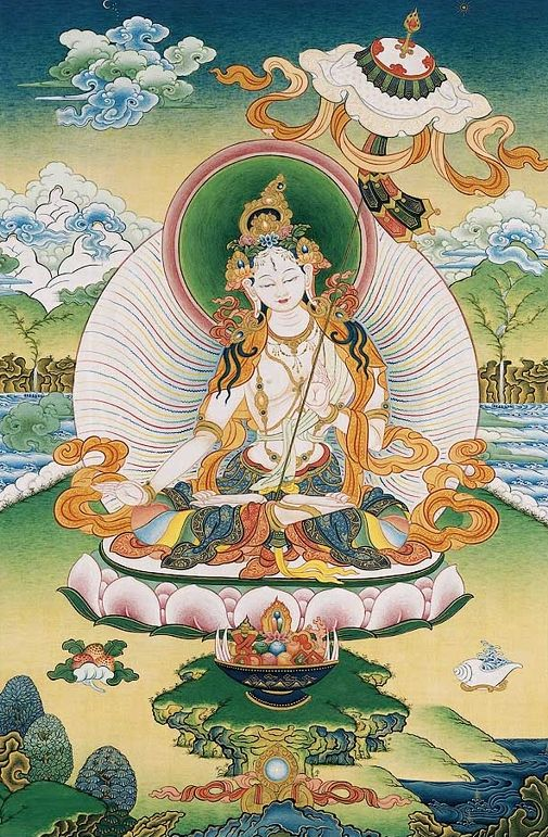 Such a beautiful Thangka!