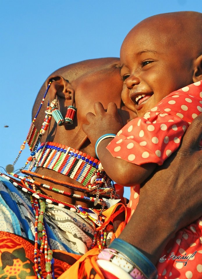 Maasai Girl.     - Laura Teran