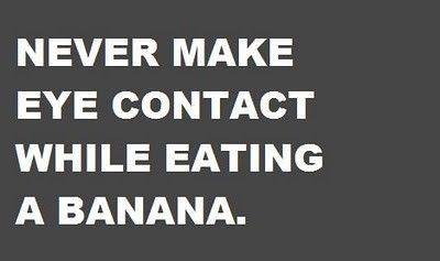 Never, ever... LMAO!