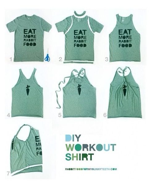how to cut a tshirt into a halter crop top