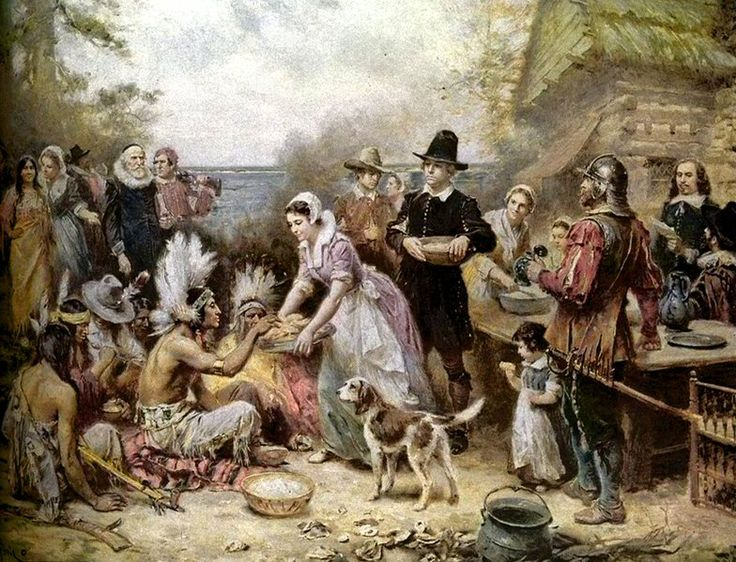 In 1621 the pilgrims concluded a peace treaty with chief for America s second harvest