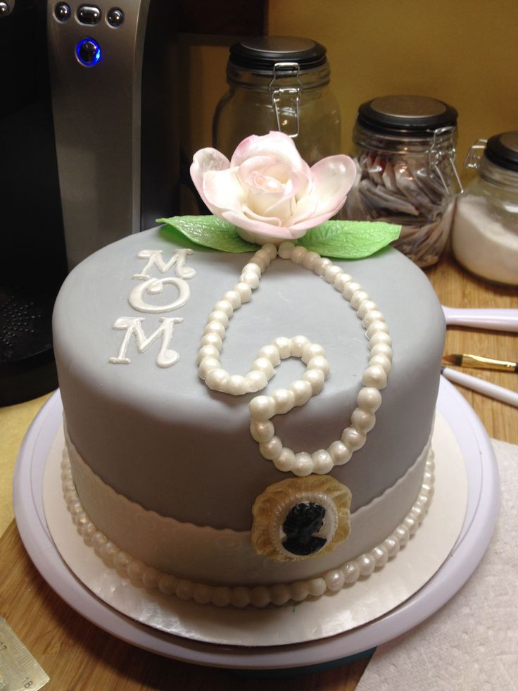 Cake Ideas Mom S Birthday : Mom birthday cake cake ideas Pinterest