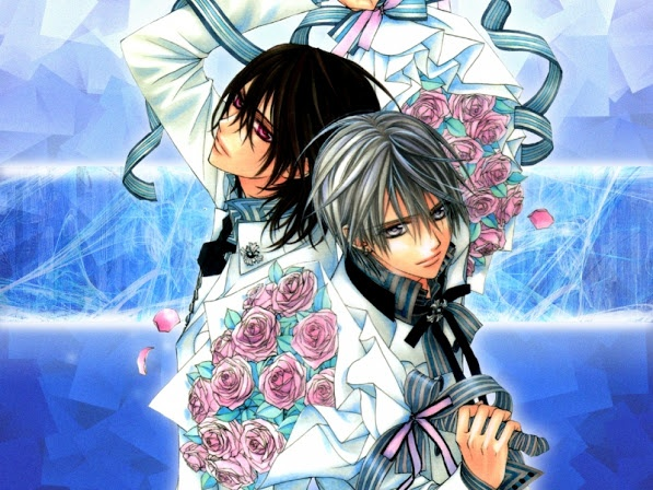 Zero and kaname could be a new ship vampire knight pinterest