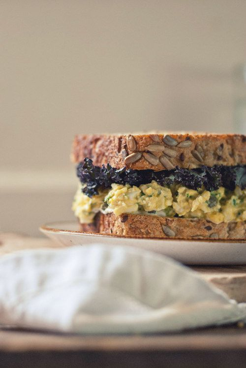 ... My Past in Food [Healthier Egg Salad with Tarragon and Pickled Celery