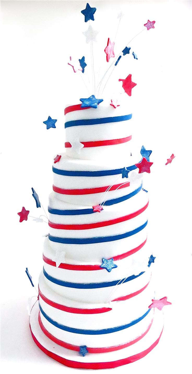 Fourth of July Cake | Cake Ideas | Pinterest
