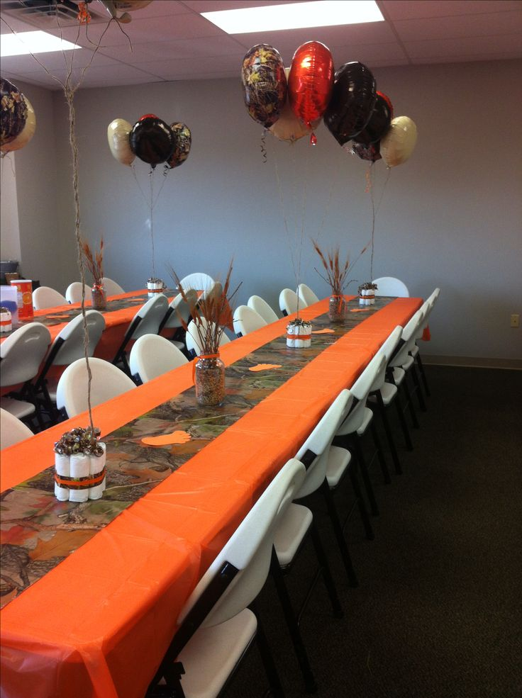 camo baby shower party pinterest