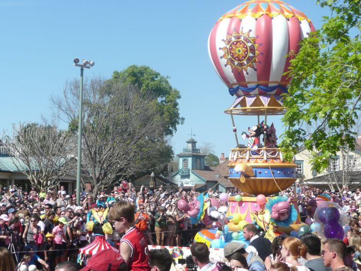 Mickey and Minnie Disney's Festival of Fantasy Parade