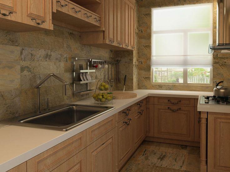 Imagen de pisos y azulejos de cocinas cocinas pinterest - Modelos de azulejos para cocina ...