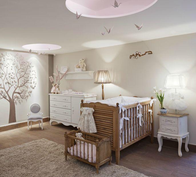 Imagens de quartos de beb decorados mimo infantil for Iluminacion habitacion bebe