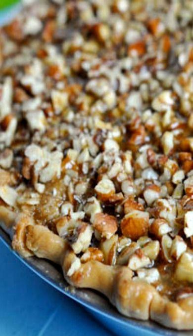 Caramel Pecan Apple Pie | Recipe
