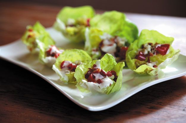 lettuce wraps bam s kitchen chicken lettuce wraps recipe lettuce wraps ...