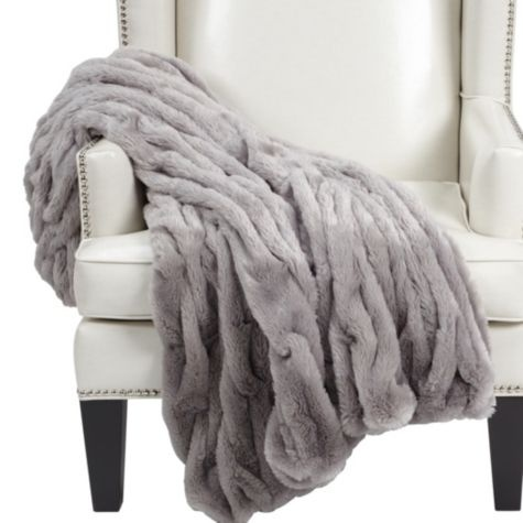 Faux Fur Throw (Z Gallerie)