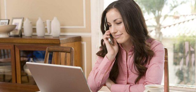 Working at home can save you money on gas, clothes, food, and childcare!