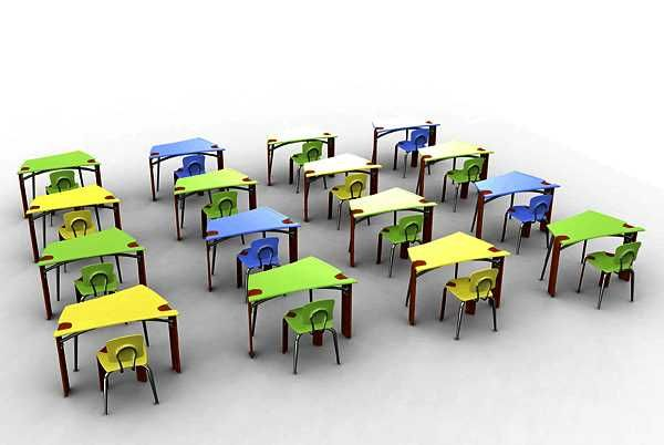 Innovative Classroom Chairs ~ Innovative and unique furniture for kids by seth moczydlowski