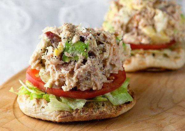 Tuna Cobb Salad Sandwiches Recipe | Scrumptious | Pinterest