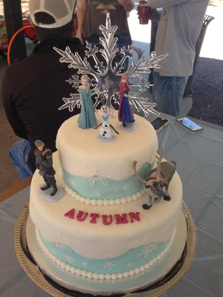 Cake Ideas For Disney Frozen : Disney Frozen cake Party Decorations Pinterest