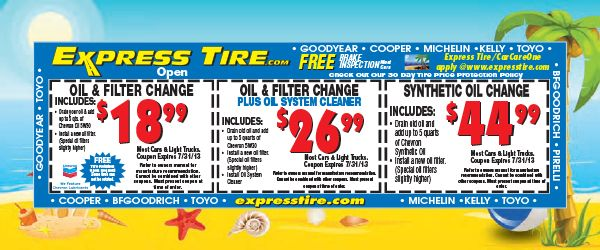 oil change coupons in jackson ms