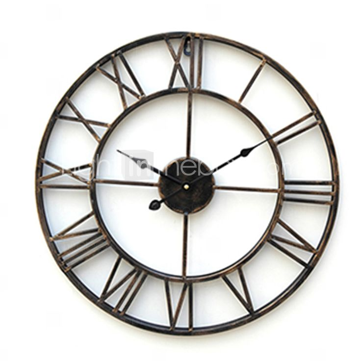 20 country style metal wall clock - Country style wall clocks ...