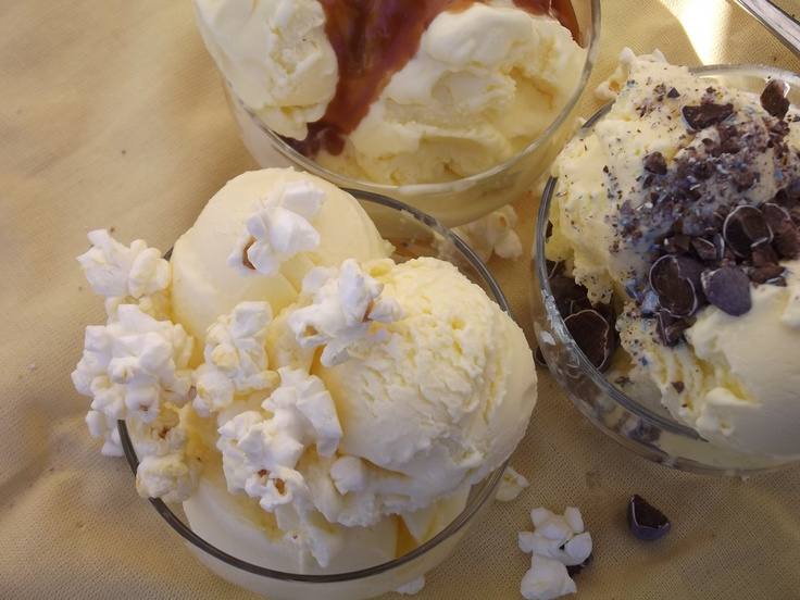 Buttery Popcorn Ice Cream Recipe — Dishmaps