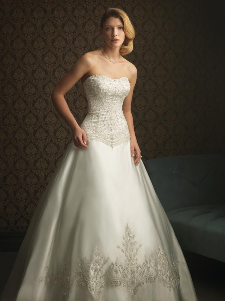 Wedding Gowns For USD 500 : Plus size wedding dresses with detachable train under dollars