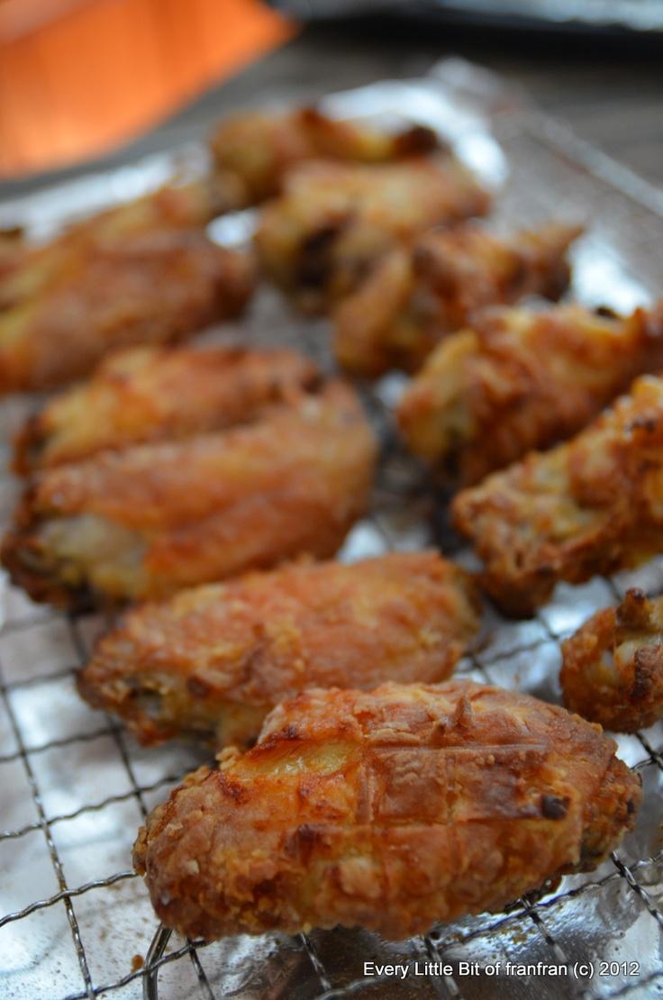 Baked crispy chicken wings   CHICKEN   Pinterest