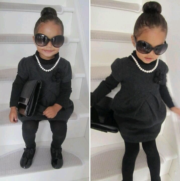 Little black dress i have to make my baby girl one