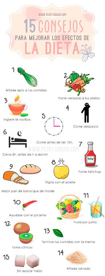 15 consejos que ayudarán a mejorar tu #dieta