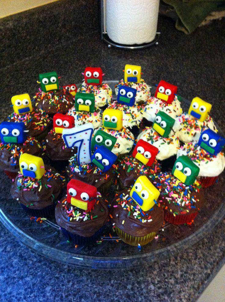 Robot Cupcakes Ideas