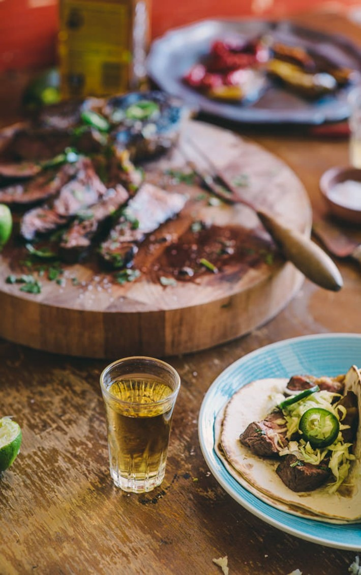 Tequila and Lime Marinated Steak (Souvlaki For The Soul)