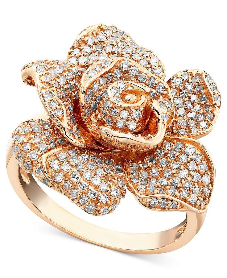 Rose Gold Ring: Rose Gold Ring Effy Rings