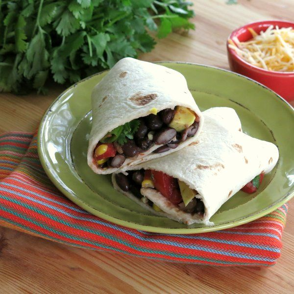 bean wraps | Spicy Black Bean Wraps for #WeekdaySupper