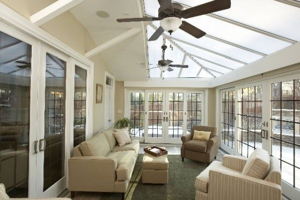 Sunroom designs 4 season room indoor patio pinterest for Sunroom and patio designs