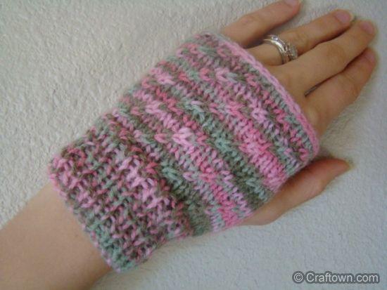 knitted hand warmers | CROCHET & KNIT | Pinterest