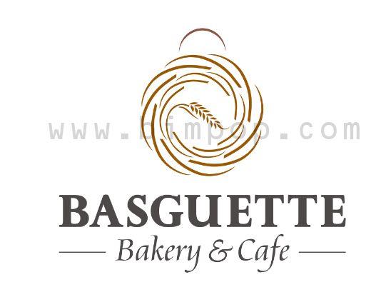 Basguette Bakery Logo Design Graphic Design Pinterest