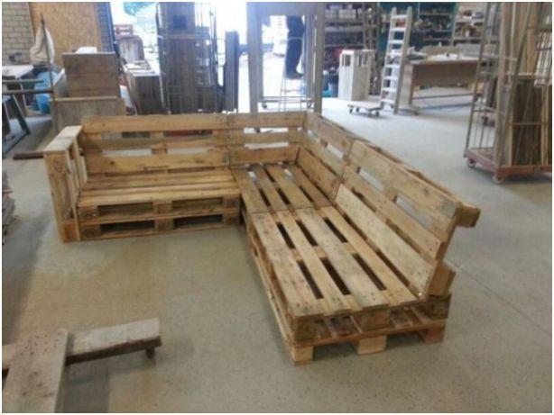 Tuinmeubels van houten pallets | Tuin | Pinterest