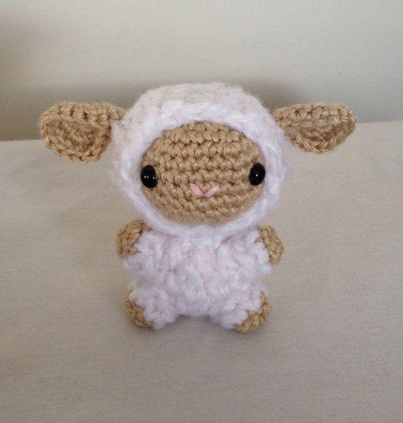 Amigurumi Crochet Lamb : Amigurumi lamb - sheep - crochet - handmade