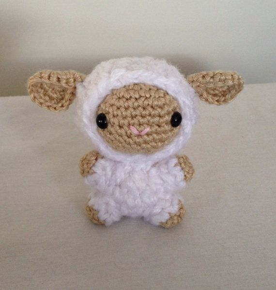 Amigurumi lamb - sheep - crochet - handmade