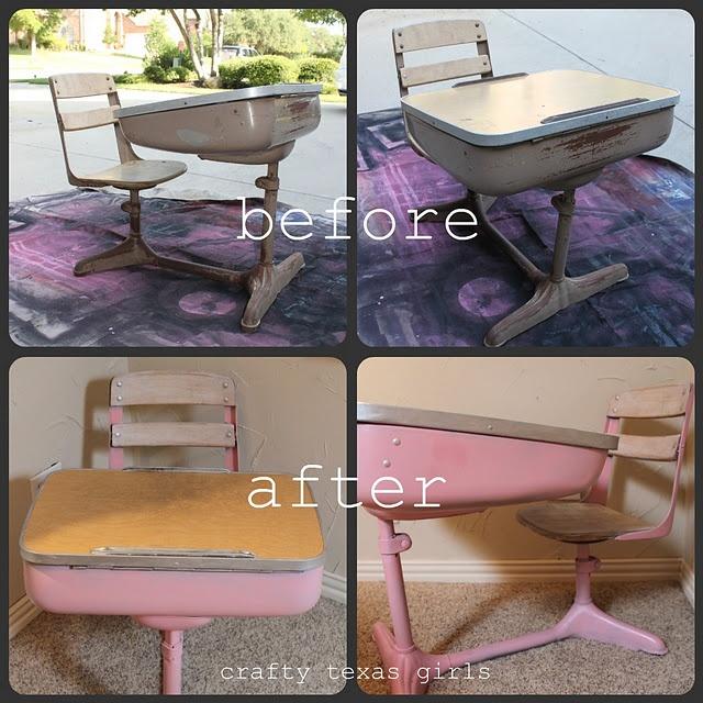 old school desk School
