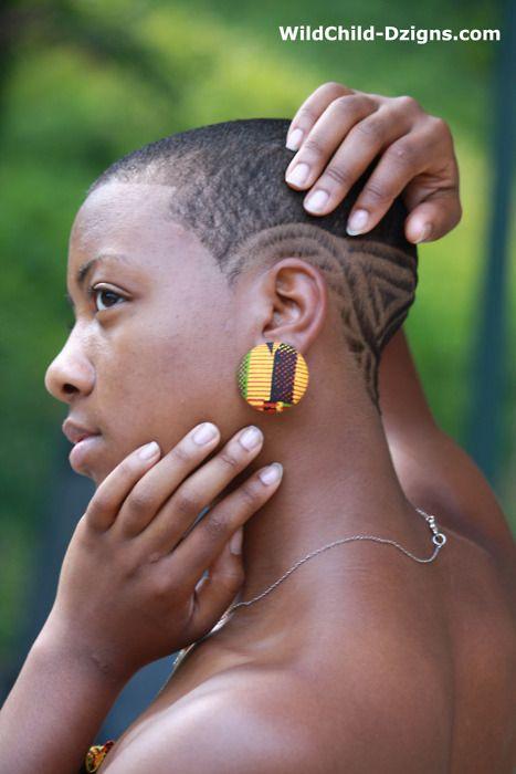 Ladies Hair Cut Design : big chop black women - Google Search Au Naturale.... Pinterest