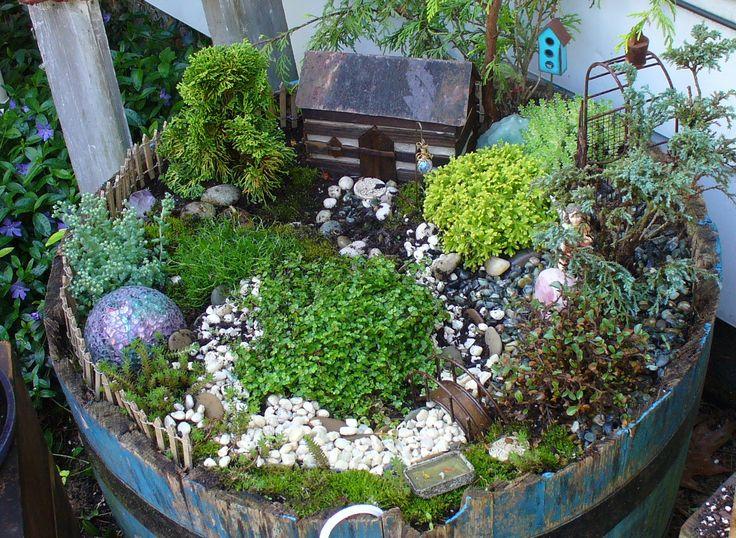 Fairy garden gardening containers pinterest - Fairy garden containers ...