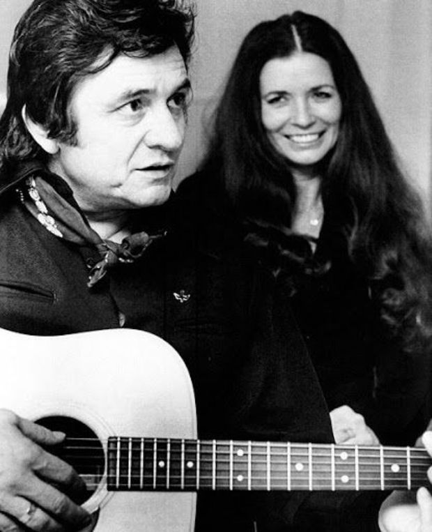 Johnny Cash And June Carter Classic Country Folk Music