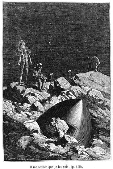 an analysis of the novel earth by jules verne Classic book review: from the earth to the moon, by jules verne  the  characters in the baltimore gun club are so fantastically drawn, such.