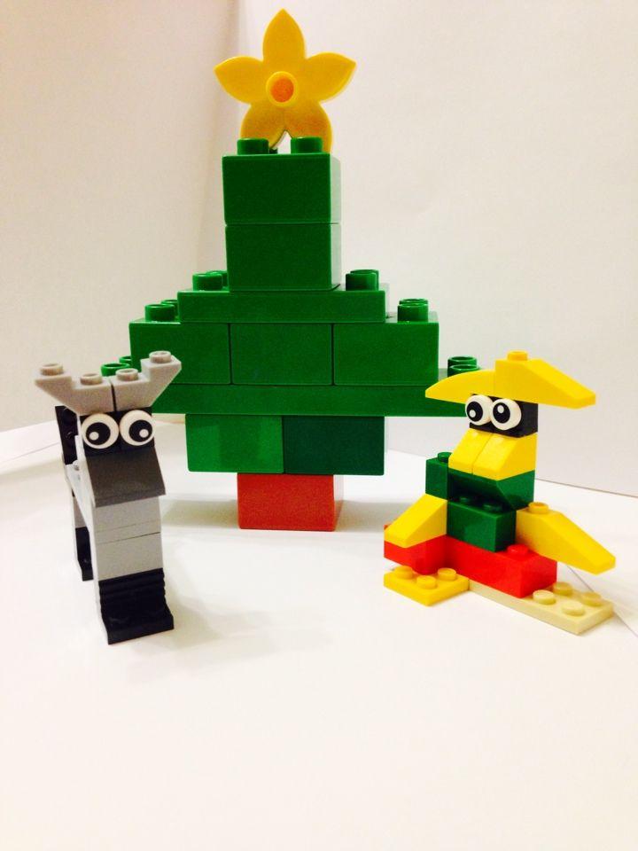 Поделки из конструктора лего для детей 23