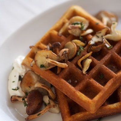 Cornmeal Waffles | Recipe