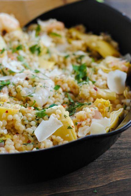 Lemon Israeli Couscous Recipe — Dishmaps